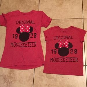 Mommy & Me Disney Minnie Mouse Tees